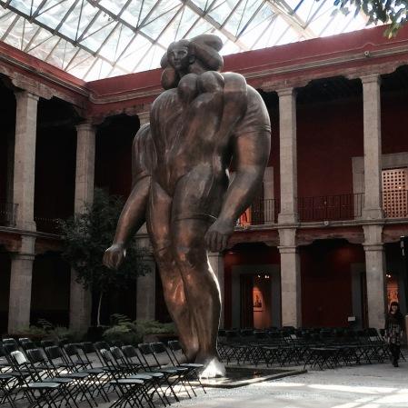 """""""La Giganta"""" en el Museo José Luis Cuevas"""
